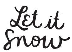 Let it snow (1509e)
