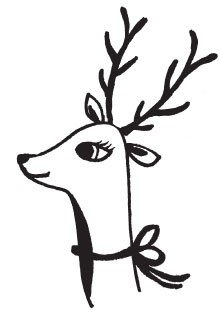 happy reindeer (1512g)