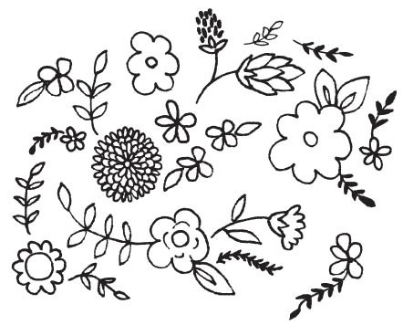 Floral Background (1536l)