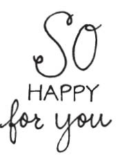 So Happy For You (1543e)