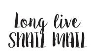 Long Live Snail Mail (1549c)