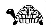 Savvy Turtle Stamp (1583c)