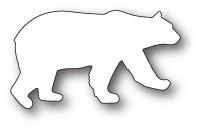 Poppystamps Roaming Polar Bear craft die 1896