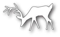 Poppystamps Morning Deer craft die 1899