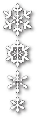 Poppystamps Boho Snowflakes craft die 1909