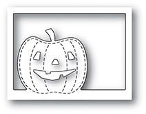 Poppystamps Pumpkin Collage craft die 1951