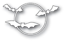 Poppystamps Bat Ring craft die 1955