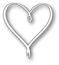 Ribbon Heart Die 1974