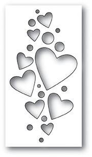 Heart Confetti Collage 1994