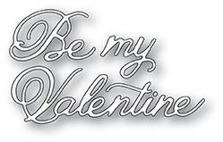 Be My Valentine Postcard Script die 2003