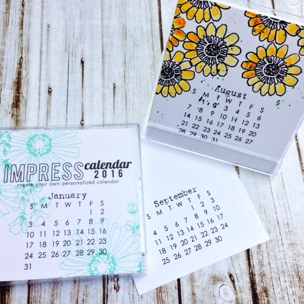 Impress 2016 Small Calendar