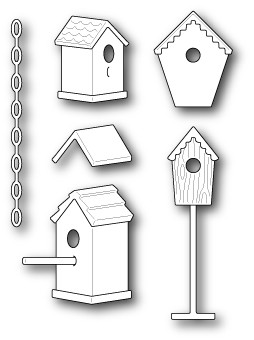 Memory Box Birdhouse Village (30001)