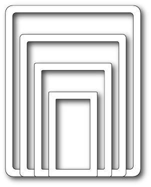 Memory Box Shaker Rectangle Frames (30003)