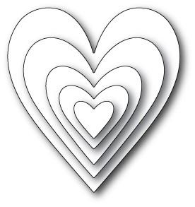 Memory Box Glorious Hearts (30006)