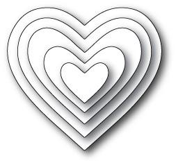 Memory box Cherub Hearts (30008)