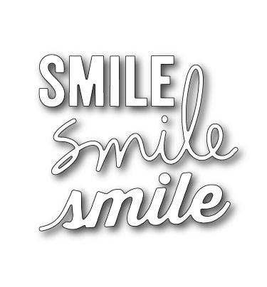 A Lovely Smile Die Set (30012)