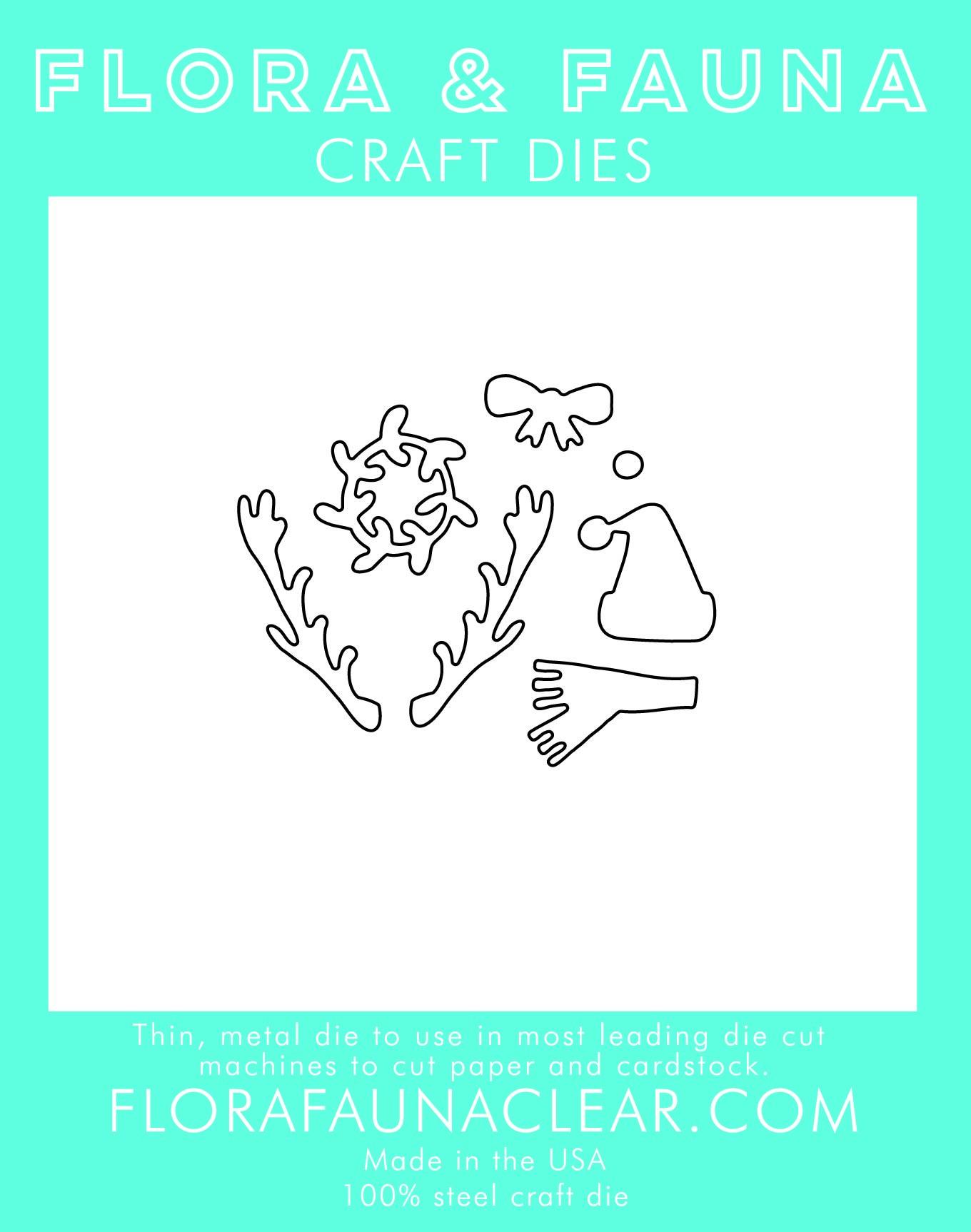 Flora & Fauna Holiday accessories Dies