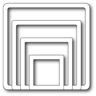 memory box Shaker Square Frames (30030)