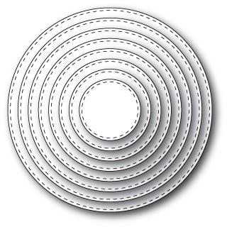 Memory Box Stitched Circle Layers (30036)