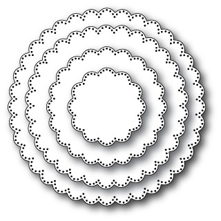 Pinpoint Scalloped Circles (30050)