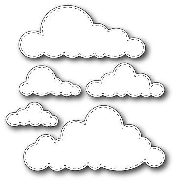 Stitched Clouds Dies (30053)