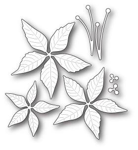 30093 Poinsettia Blooms craft die