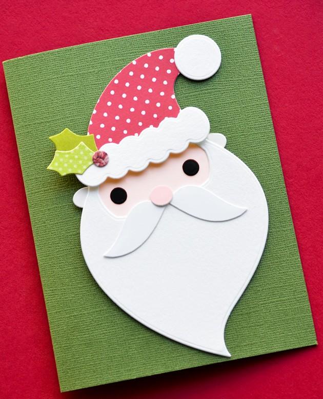 Memory Box Jolly Old Santa craft die 30101