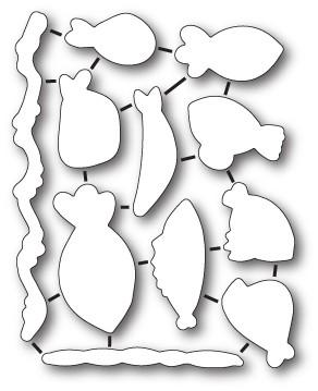 Memory Box FIsh Tales Open Studio Craft Die (32203)