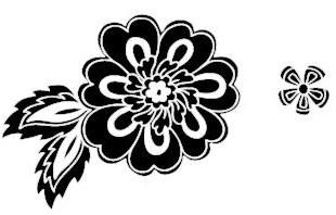 5368E - ribbon flower solid combo
