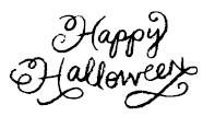 5420C - chalk happy halloween