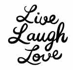 5444c - live laugh love