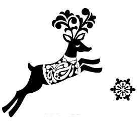 5524e - Folk Reindeer Combo