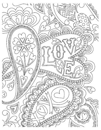 5557k - valentine coloring book