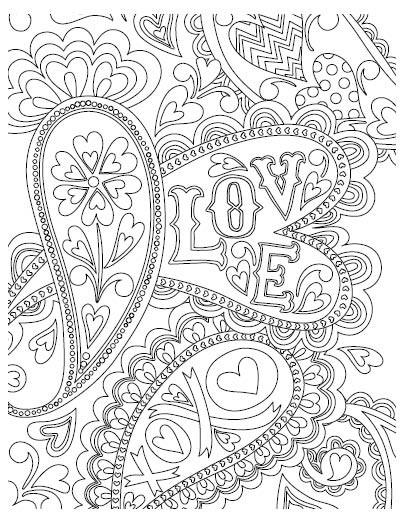 5557k - valentine coloring book