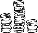 5627d - stack of macarons