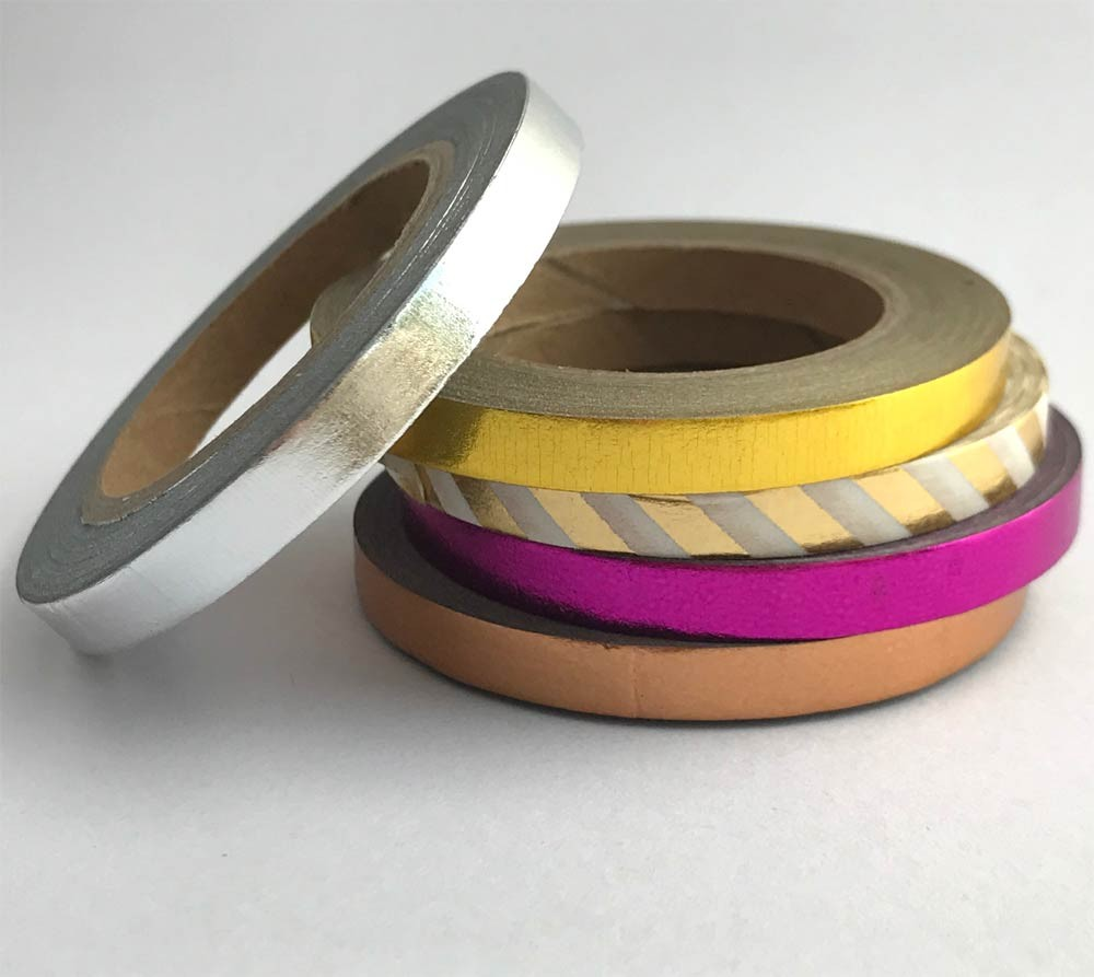 Five Foil Washi Tapes