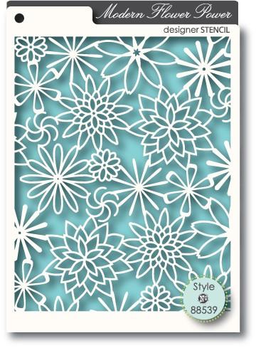 Flower Power Stencil (88539)