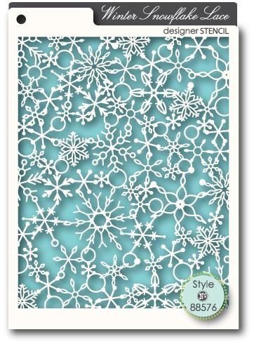 Snowflake Lace Stencil (88576)