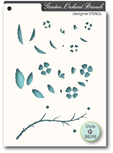Orchard Branch Stencil (88598)