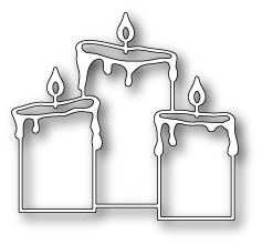 Pillar Candle Trio (mb98924)
