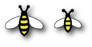 Memory Box Itty Bitty Bumblebees (99028)