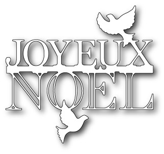 Peaceful Joyeux Noël DEie (99034)