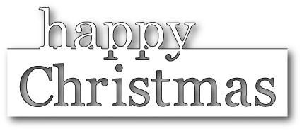 Grand Happy Christmas die(mb99063)