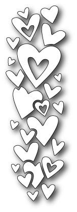 Memory box Heart Waterfall (99079)