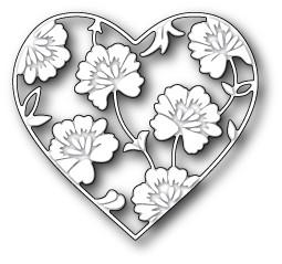 Memory Box Vernay Heart (99080)