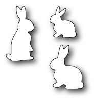 Memory Box springtime bunnies (99109)