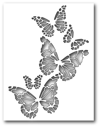 Reverse Butterfly Collage (99145)
