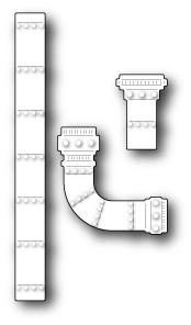 Medium Steampunk Pipes (99157)