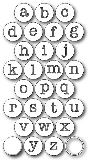 Contour Typewriter Keys (99170)