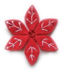 Plush Small Poinsettia dIE (99300)